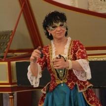 Ludovica v baroknim kostymu / Ludovica in baroque dress