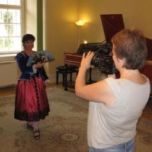 pracujeme na promo videu / working on promo video - s kameramankou Petrou Lezakovou / with cameraman Petra Lezakova