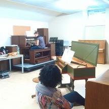 Lucie, Ludovica-varhany a klavir, organ and piano