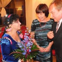Ludovica Mosca prijima gratulace / congratulations