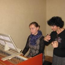 Ludovica, Lucie - Zkouska / Rehearsal